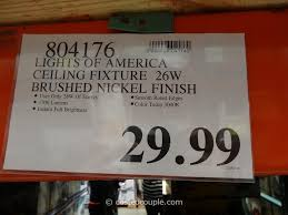 costco light fixtures lights of america ceiling fixture light fixtures