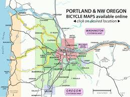 recreational bicycling rides maps the city of portland oregon