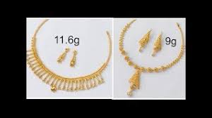 light weight gold necklace designs modern designer gold necklaces dayclip search your youtube