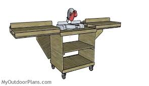 wood table saw stand miter saw stand plans myoutdoorplans free woodworking plans and