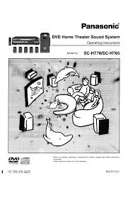 panasonic home theater manual download free pdf for panasonic sc ht65 home theater manual