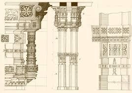 adalaj stepwell column technical drawing by fghtan on deviantart