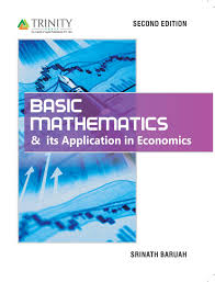 basic mathematics u0026 its application in economics 2nd edition buy