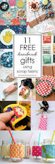 free handmade gifts using scrap fabric fabric scraps scrap and