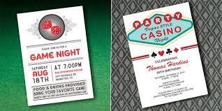 themed invitations casino themed invitations badi deanj