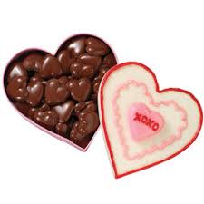 chocolate heart candy hearts candy mold wilton