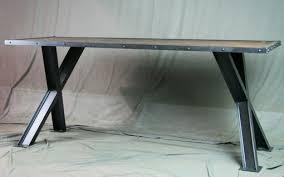 Modern Industrial Desk Buy A Hand Made Industrial Desk Table Modern Industrial Dining