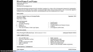 Paralegal Resume Example Paralegal Resume Example Youtube