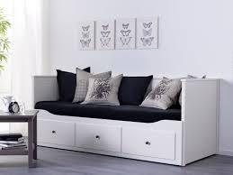 Ikea White Bedroom Furniture by Hemnes Bedbank Ikea Ikeanl Wit Eenpersoonsbed