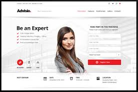check out advisio u2013 marketing landing page by webuza on creative