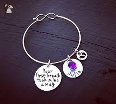 push gifts for new your breath took mine away bracelet new bracelet new