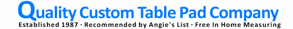 Ohio Table Pad Company Affordable Custom Table Padding Table Protectors And Glass Table