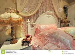 flowery bedroom and ornaments royalty free stock photo image