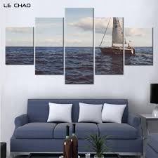 Sailboat Home Decor Popular Canvas Painting Sailboat Buy Cheap Canvas Painting