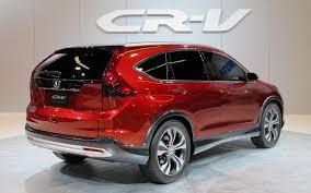 New Honda Crv Diesel Honda Cr V Concept Comes To California Gets New Engine