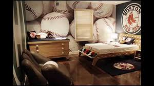 Baseball Decorations For Bedroom by Sports Themed Bedroom Design Ideas Youtube