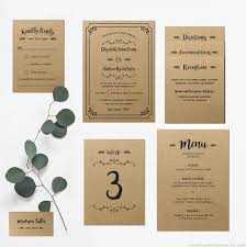 Blank Wedding Invitation Kits Astounding Printable Wedding Invitation Sets 58 With Additional