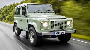land rover green what u0027s land rover u0027s end of the line defender heritage like to
