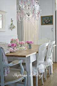 Chic Dining Rooms Fascinating Shabby Chic Dining Room Table And Chairs 43 In Diy