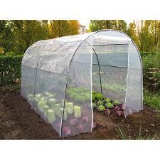 serre tunelle de jardin tunnel mini tunnel jardin serre tomates plateau leroy merlin
