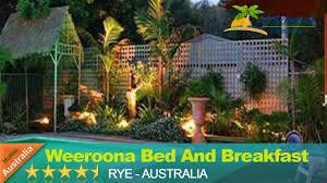 weeroona bed and breakfast rye hotels australia youtube