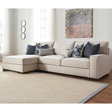 Sectional Cushions Benchcraft Kendleton Modern 2 Piece Sectional With Left Chaise And