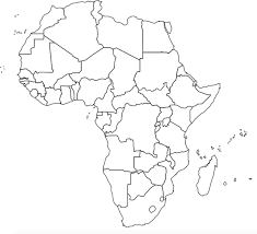 Blank Africa Map Soil And Change Geographymonkey Com