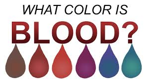 what color is what color is blood really length version