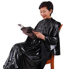 hair fashion smocks salon apparel salon nylon smock customer gown cutting cape