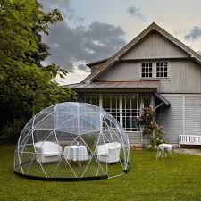 garden igloo outdoor yard decor garden igloo garden igloo 360 dome with clear