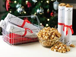 holiday food gift coffee caramel corn recipe hgtv
