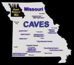 missouri caves map 2282 best missouri images on independence missouri