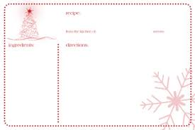 free printable holiday tags recipe cards u0026 more simply sweet home