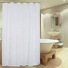 Bathtub And Shower Liners Amazon Com Shower Curtain Fivanus Lock Hole Heavy Duty Bathroom
