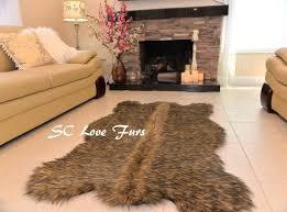 35 best faux fur bear rugs grizzly polar bear black brown cali