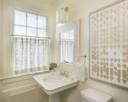 curtains for bathroom window ideas ivory powder room transitional bathroom digs design company