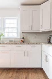 wood countertops white kitchen cabinet ideas lighting flooring