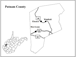 Wv Map Putnam County Wv Image Gallery Hcpr