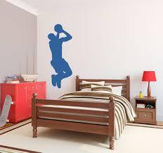 basketball player wall decal sticker basketball silhouette wall decal
