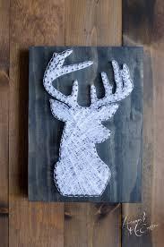 Deer Hunting Home Decor by Deer Head String Art Hunting Decor Hunting Gifts Gifts