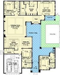 plan 82034ka home plan with courtyard and guest cabana cabana