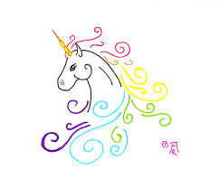 unicorn tattoo by runeelf on deviantart