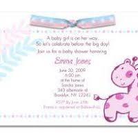 baby shower for baby shower invitations for a girl justsingit