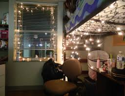 Icicle Lights In Bedroom Holiday Decorations Dorm Decorating