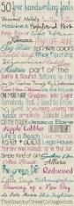 free cursive writing paper best 25 cute handwriting ideas on pinterest bullet designs 50 free handwriting fonts