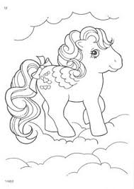 pony coloring pages printables fonts