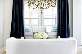 white and navy curtains scalisi architects
