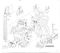 planos fender 62 jazzmaster pastrana guitars