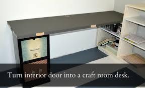 Door Desk Diy Weekend Project Diy Upcycled Door To Desk The Olympic Nest