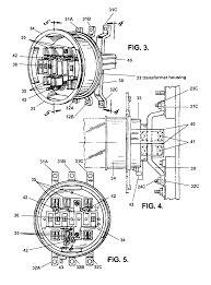 patent us7857660 watt hour meter socket adapter with current